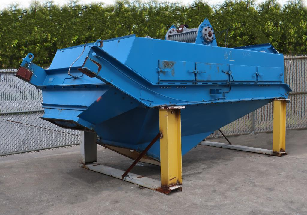 Screener and Sifter Derrick Mfg Corp. rectangular shaker screener, CS