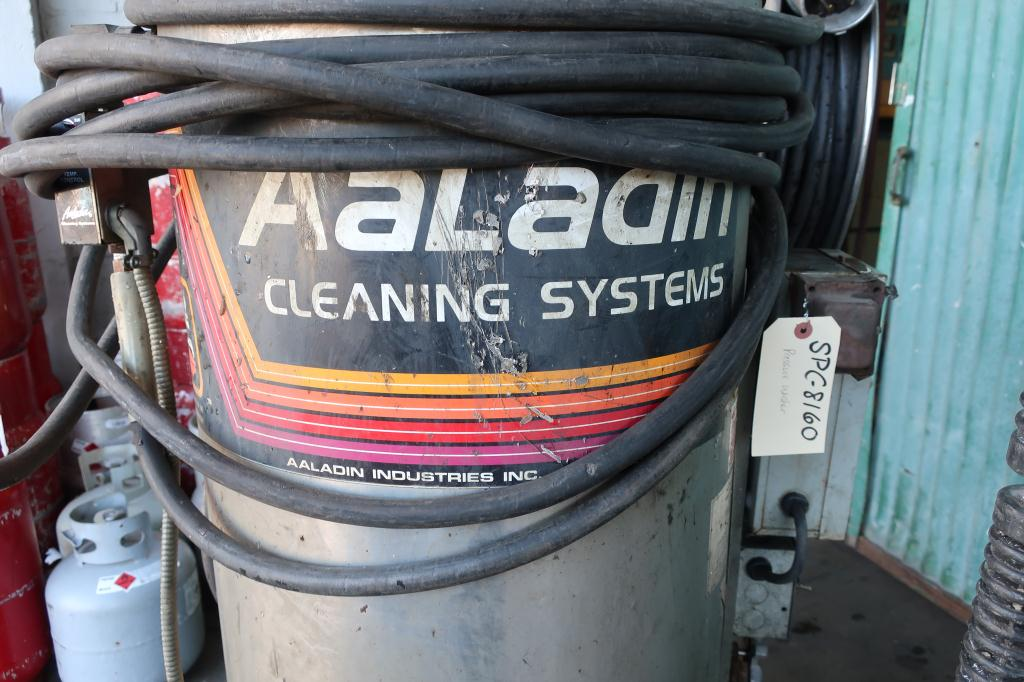 Miscellaneous Equipment Aaladin model 1450 pressure washer, 7.5 hp, 2000 psi, 5 gpm, 440,000 b.t.u.3