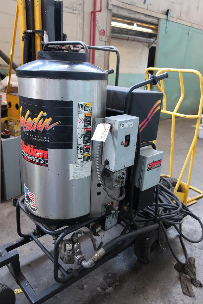 Miscellaneous Equipment Aaladin model 1450 pressure washer, 6 hp, 1800 psi, 5 gpm, 440,000 b.t.u.1