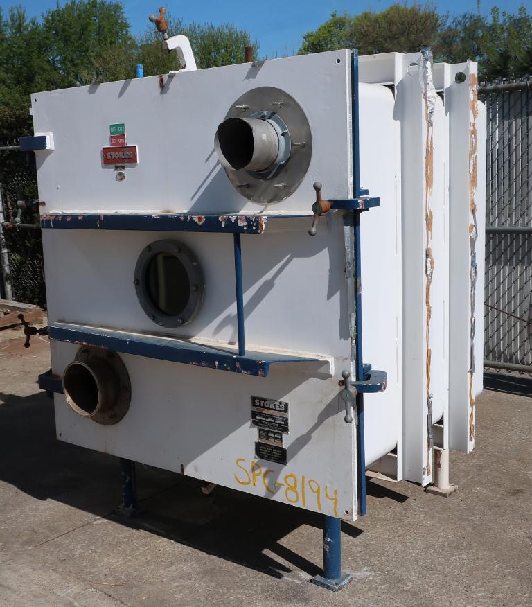 Dryer Stokes vacuum shelf dryer model 338-4, Stainless Steel5