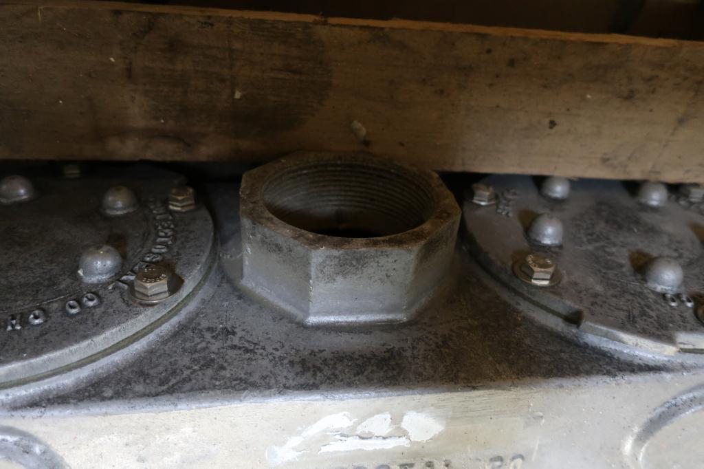 Valve vacuum conservation vent, 3 vent size Protectoseal model 8743, Aluminum2