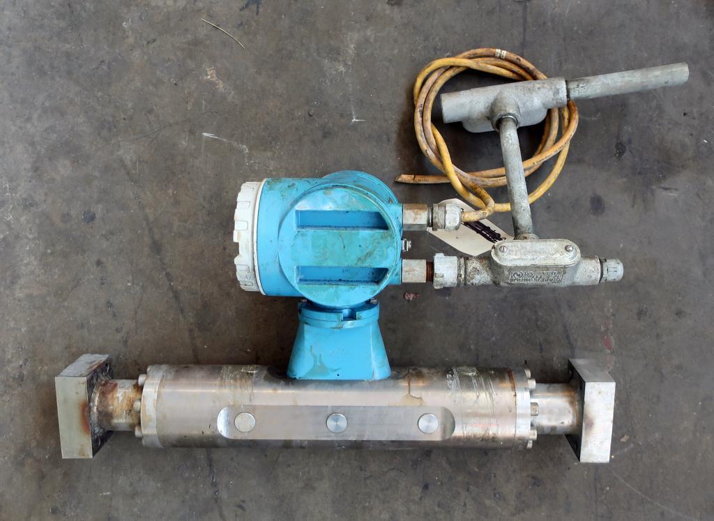 Valve 1.5 Endress-Hauser model PROMASS 63M liquid flow meter, Stainless Steel4