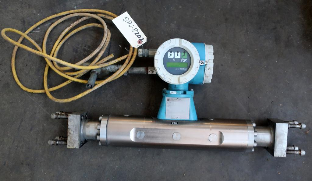 Valve 1.5 Endress-Hauser model ProMass 63M liquid flow meter, Stainless Steel1