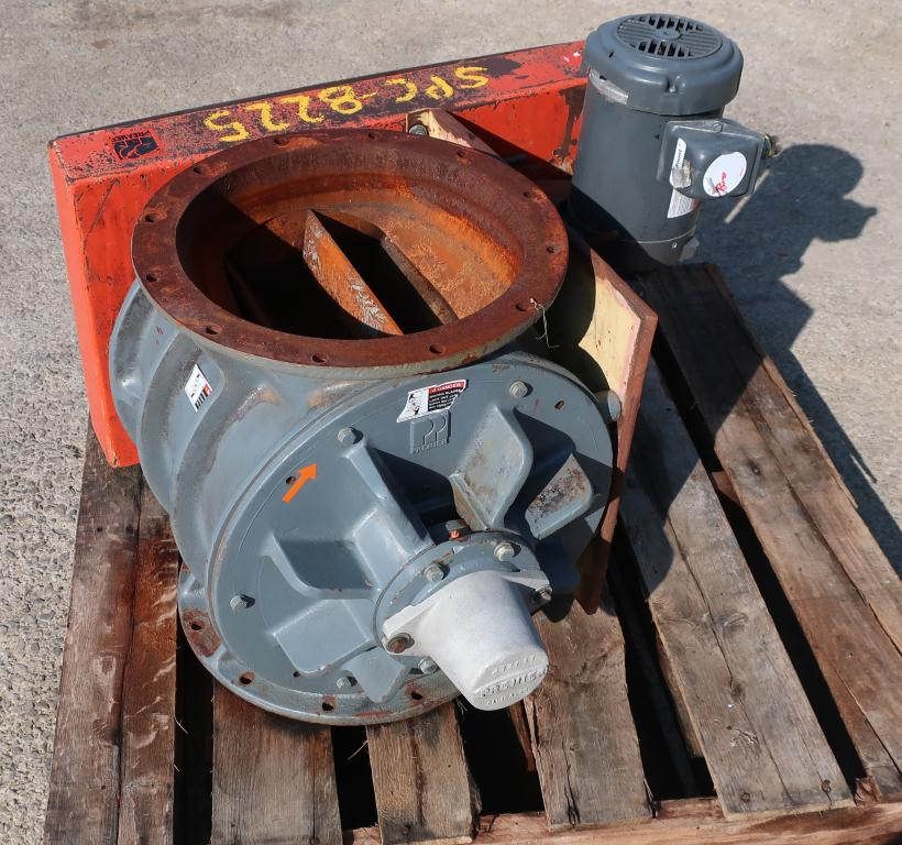 Valve 14 diameter CS Premier Pneumatics rotary airlock feeder3