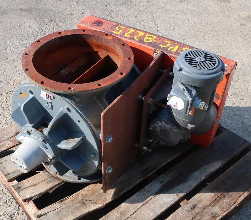 Valve 14 diameter CS Premier Pneumatics rotary airlock feeder4