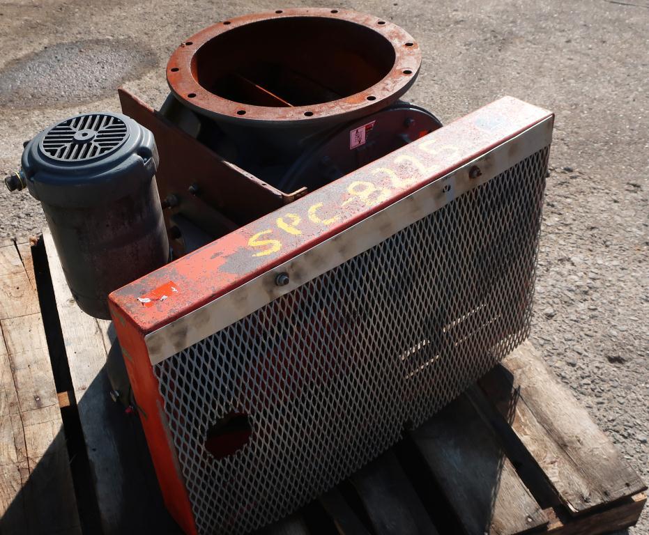 Valve 14 diameter CS Premier Pneumatics rotary airlock feeder5