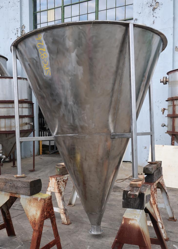 Bin 96 cu.ft., bulk storage bin, Stainless Steel3