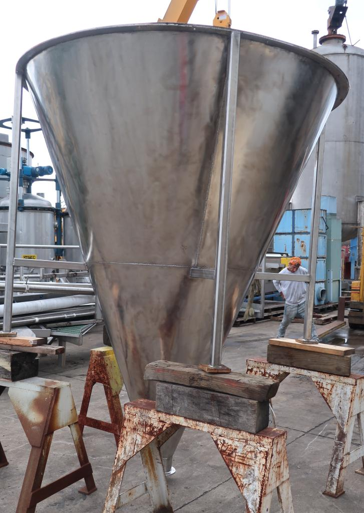 Bin 96 cu.ft., bulk storage bin, Stainless Steel4