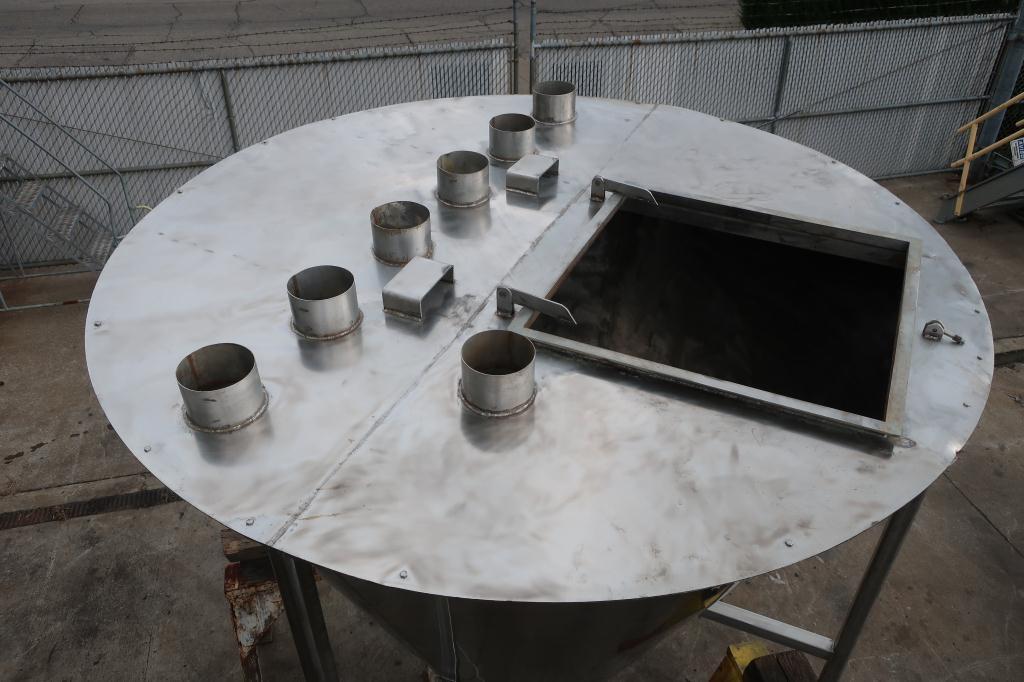 Bin 96 cu.ft., bulk storage bin, Stainless Steel6