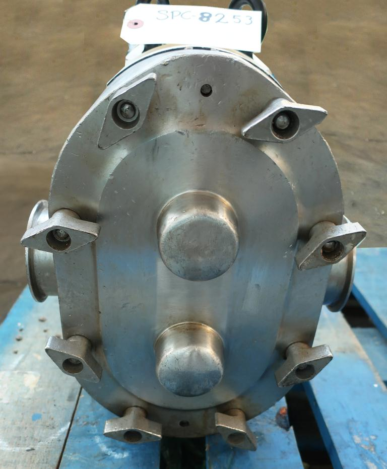 Pump 3 inlet AMPCO positive displacement pump model RBZP1-130-S0, Stainless Steel4