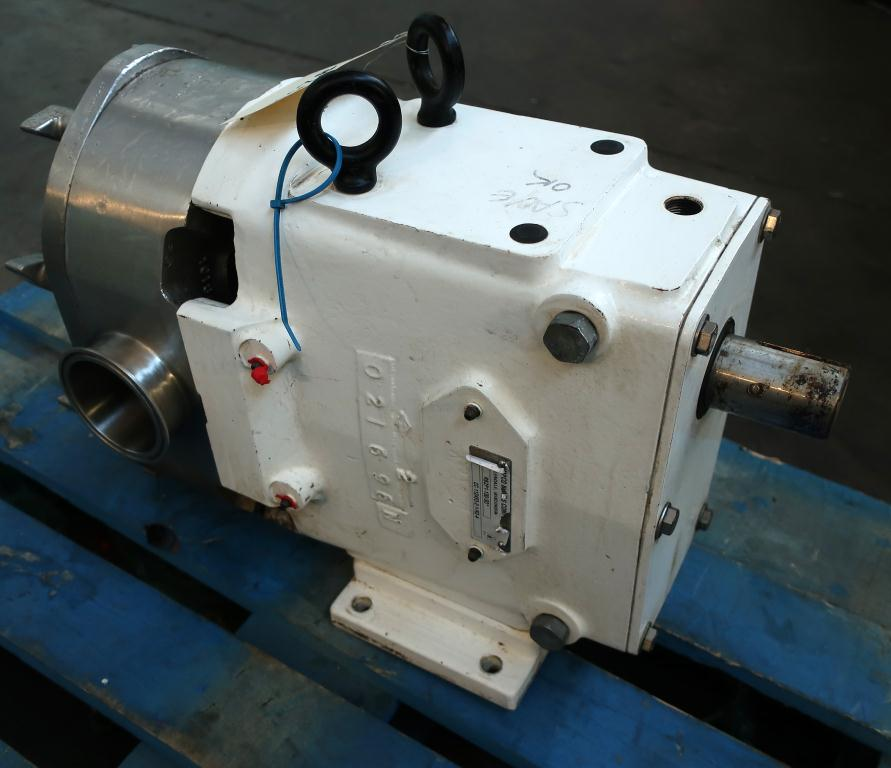 Pump 3 inlet AMPCO positive displacement pump model RBZP1-130-S0, Stainless Steel5