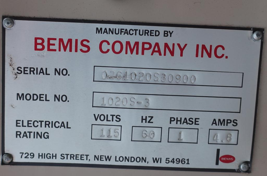 Case Sealer Bemis case taper model 1020 S - 32