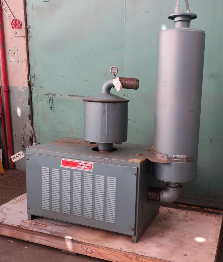 Blower 570 cfm, positive displacement blower Thoreson McCosh, 10 hp2
