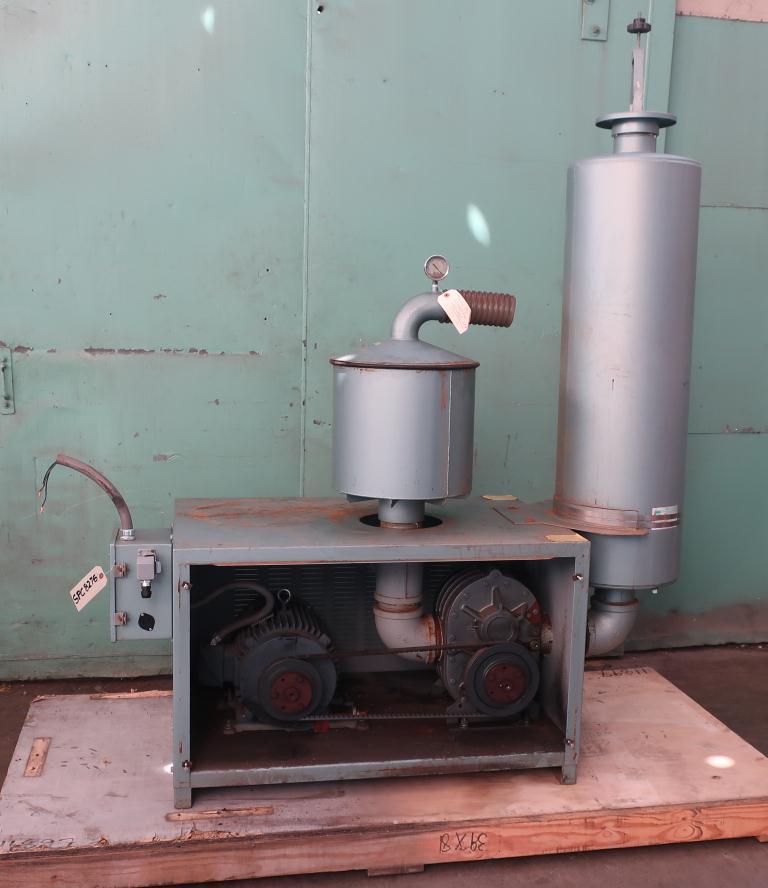 Blower 570 cfm, positive displacement blower Thoreson McCosh, 10 hp3