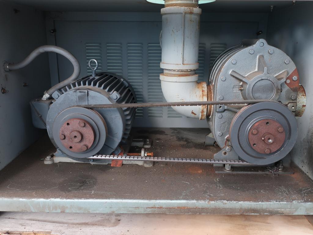 Blower 570 cfm, positive displacement blower Thoreson McCosh, 10 hp4