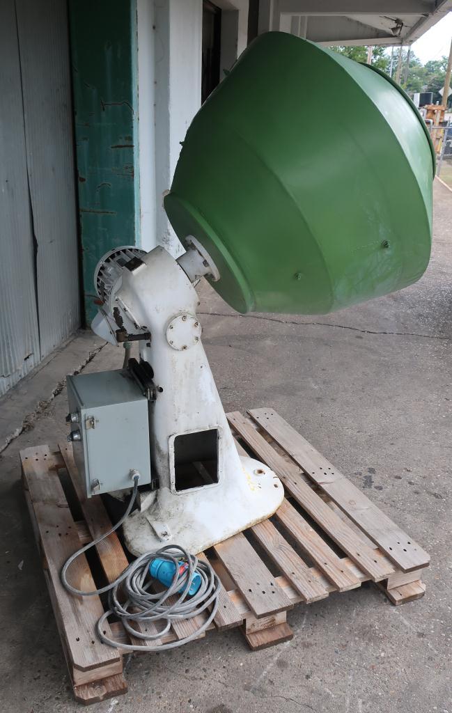 Enrober 32 diameter x 28 deep Manesty coating pan model CP2, Stainless Steel3