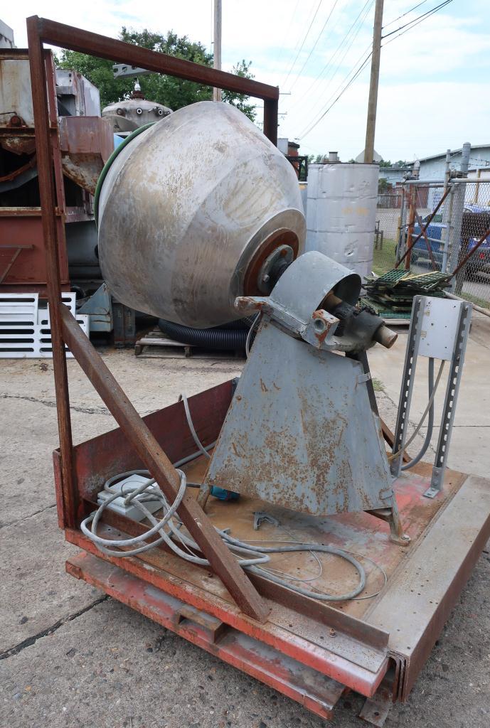 Enrober 35 dia x 26 deep coating pan Stainless Steel4