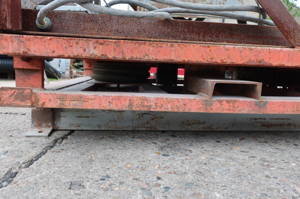 Enrober 35 dia x 26 deep coating pan Stainless Steel6