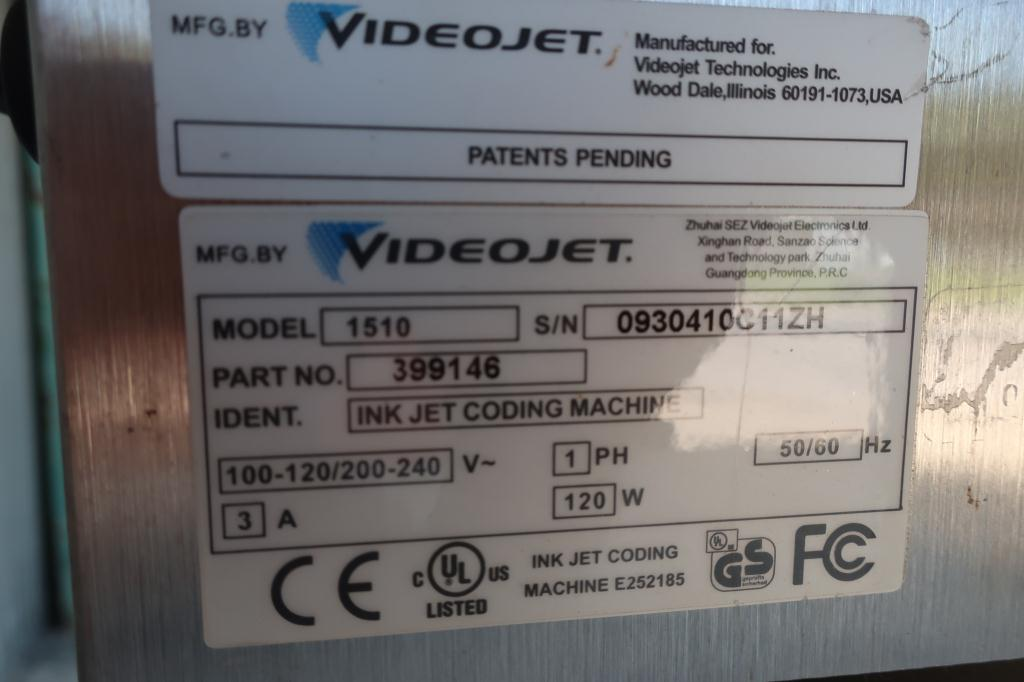 Coder VideoJet ink-jet coder model VideoJet 15104