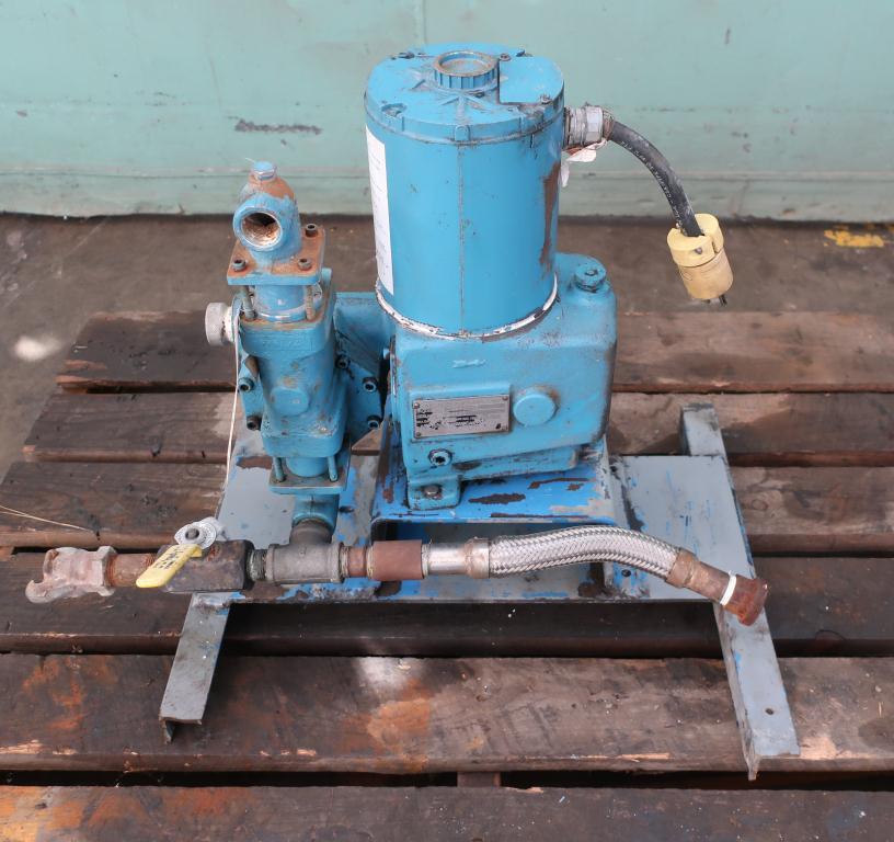 Pump 1 Neptune Chemical Pump diaphragm metering pump, CS1