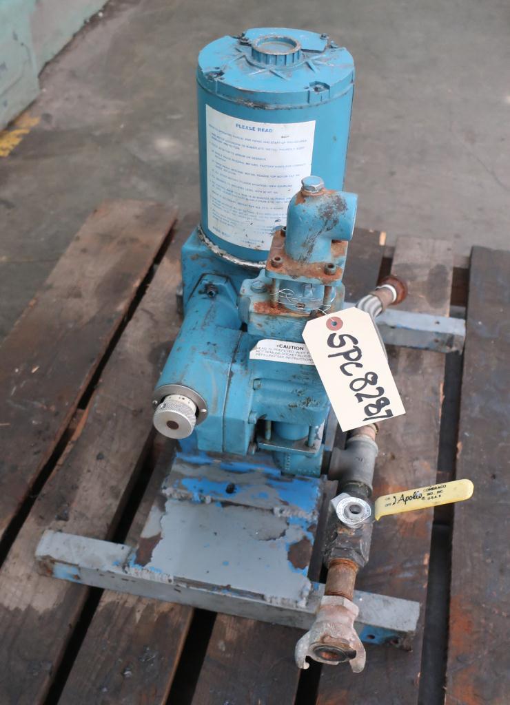 Pump 1 Neptune Chemical Pump diaphragm metering pump, CS2