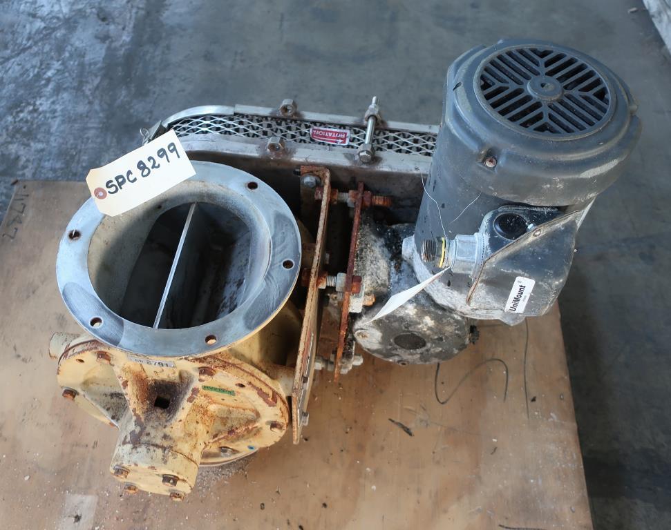 Valve 8 CS Premier Pneumatics rotary airlock feeder1