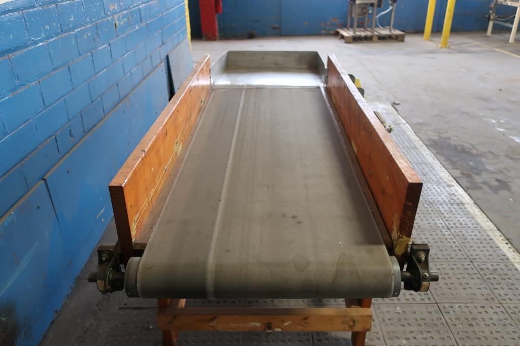 Conveyor belt conveyor 24 w x 67 l2