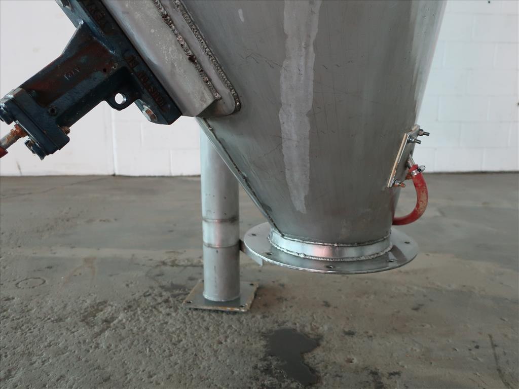Bin 40 cu.ft., bulk storage bin, Stainless Steel6