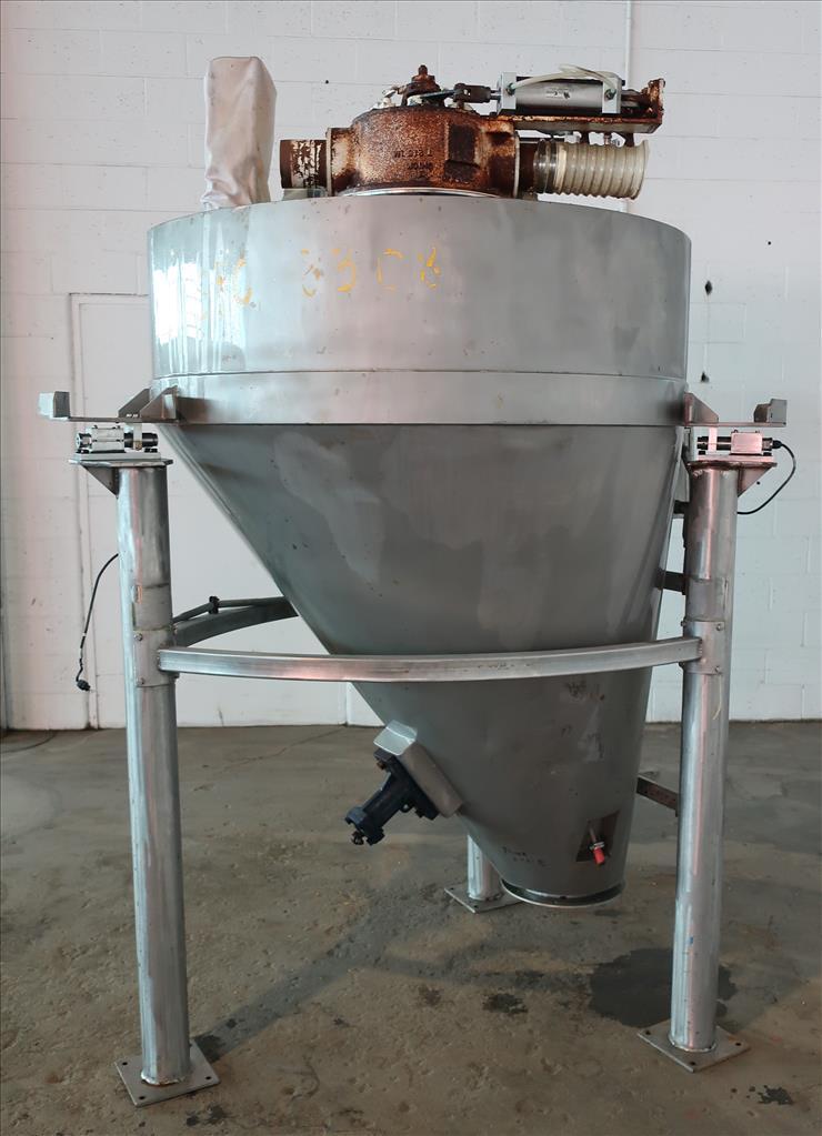 Bin 45 cu.ft., bulk storage bin, Stainless Steel1