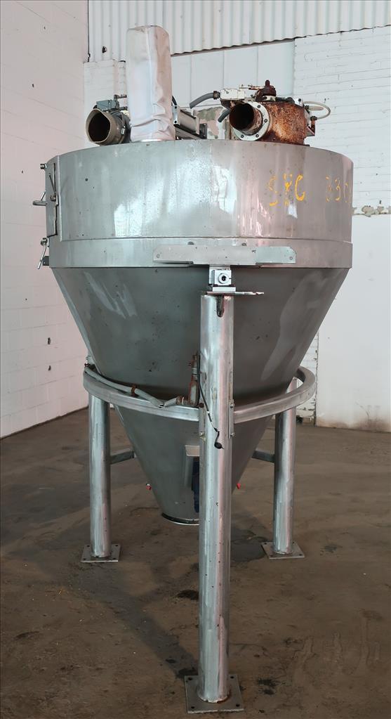 Bin 45 cu.ft., bulk storage bin, Stainless Steel4