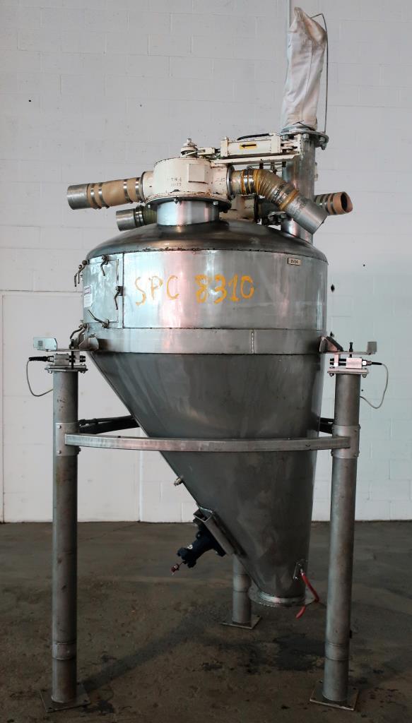 Bin 40 cu.ft., bulk storage bin, Stainless Steel1