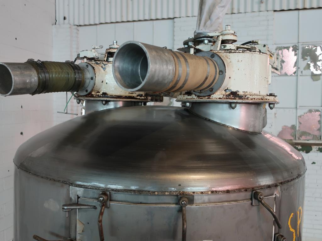Bin 40 cu.ft., bulk storage bin, Stainless Steel7