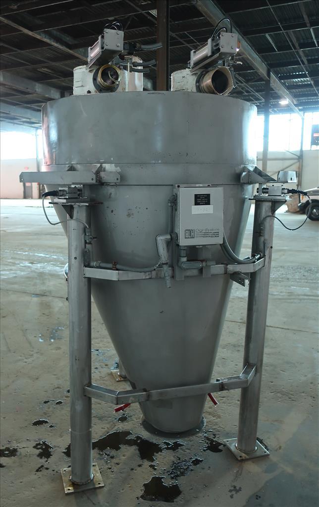 Bin 45 cu.ft., bulk storage bin, Stainless Steel2