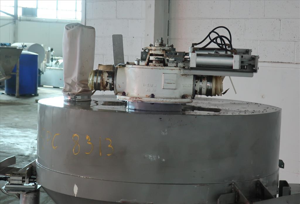 Bin 45 cu.ft., bulk storage bin, Stainless Steel6