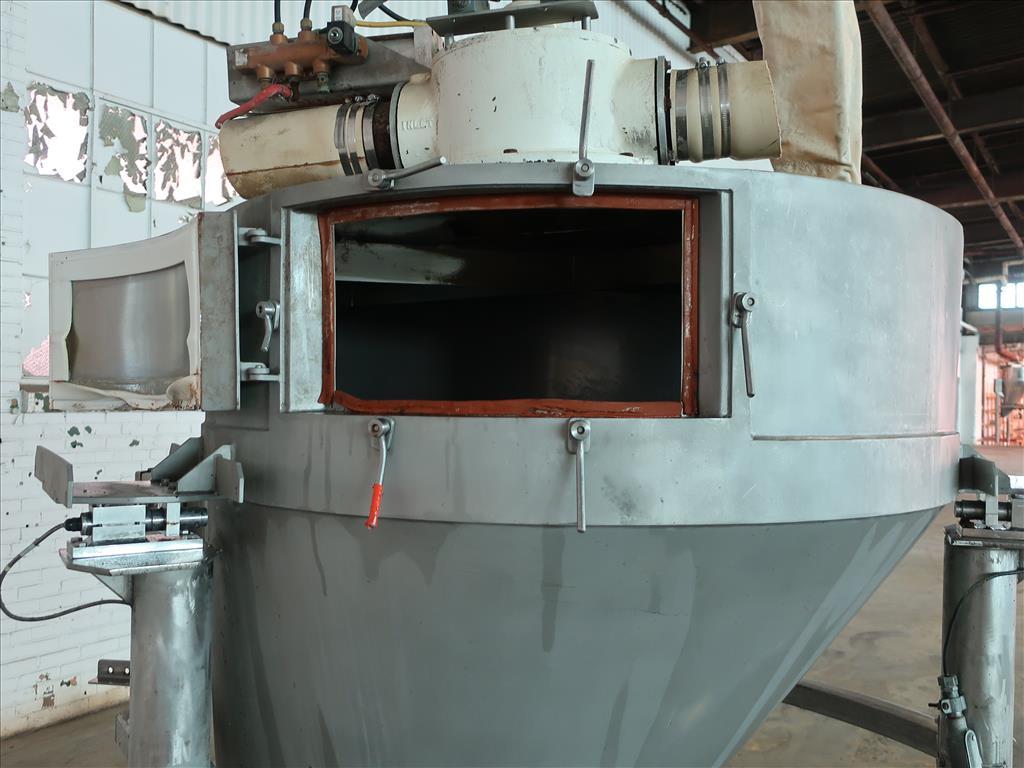 Bin 45 cu.ft., bulk storage bin, Stainless Steel7