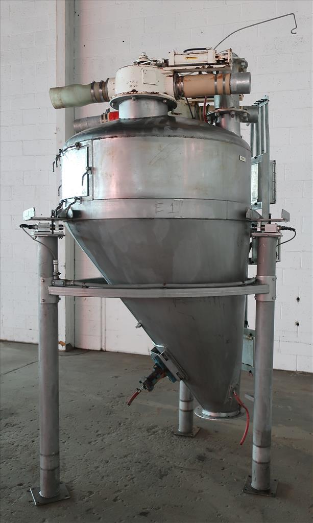 Bin 40 cu.ft., bulk storage bin, Stainless Steel2