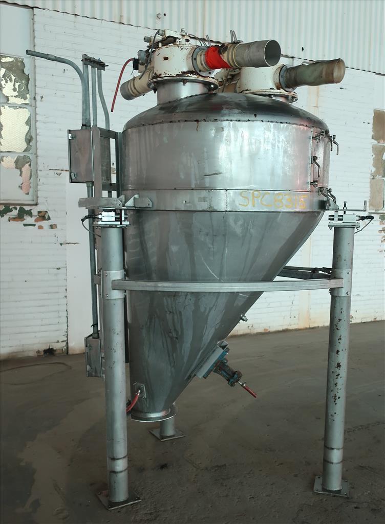 Bin 40 cu.ft., bulk storage bin, Stainless Steel3