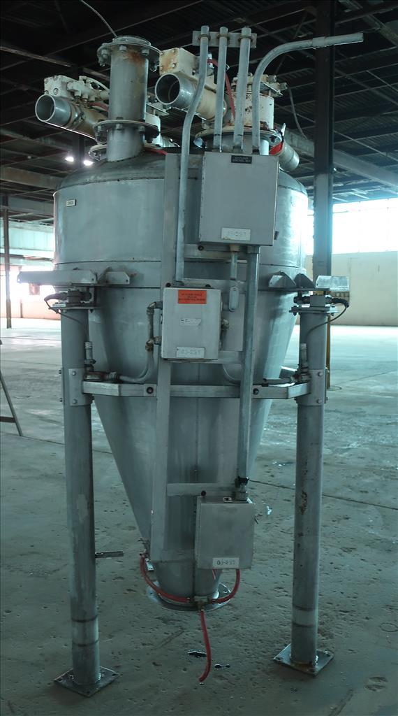 Bin 40 cu.ft., bulk storage bin, Stainless Steel4