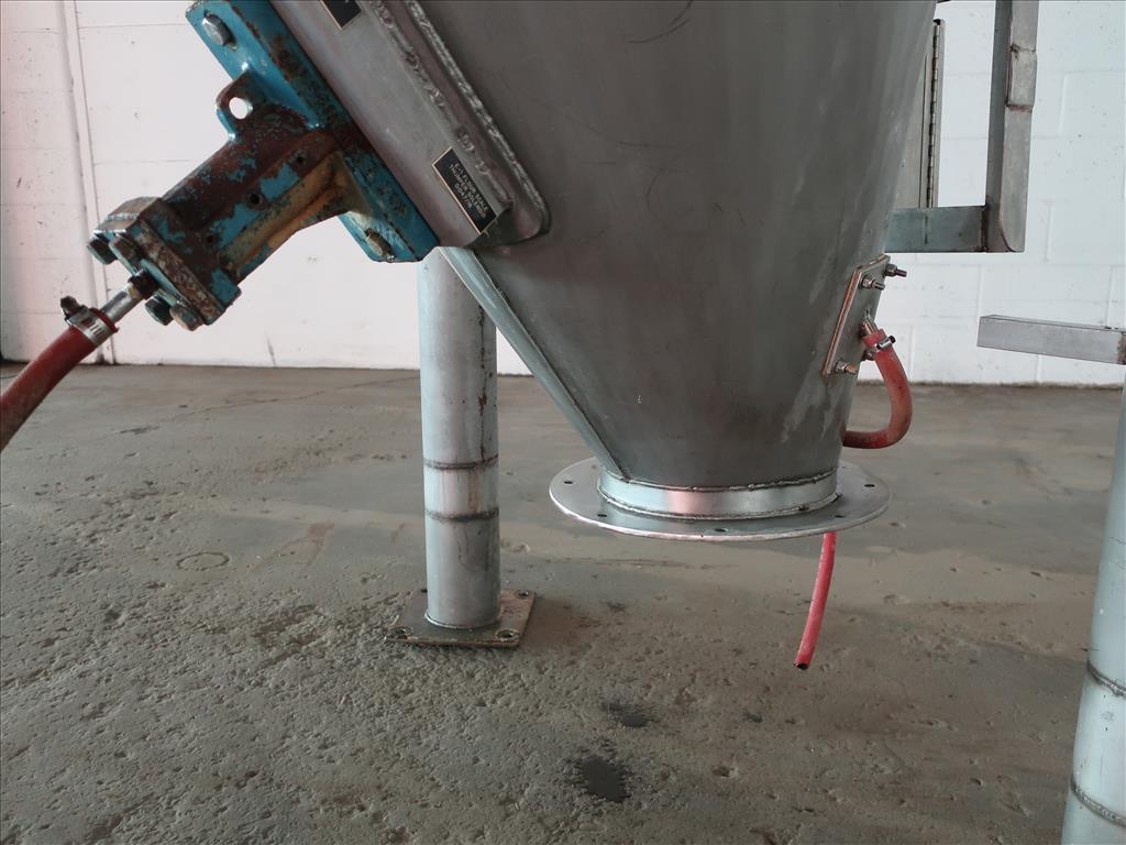 Bin 40 cu.ft., bulk storage bin, Stainless Steel5
