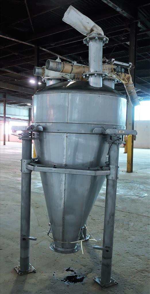 Bin Hopper Silo 40 cu.ft., bulk storage bin, Stainless Steel4