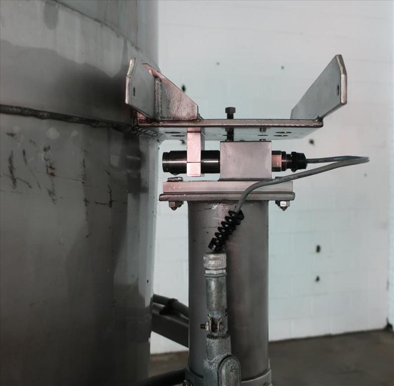 Bin Hopper Silo 40 cu.ft., bulk storage bin, Stainless Steel6