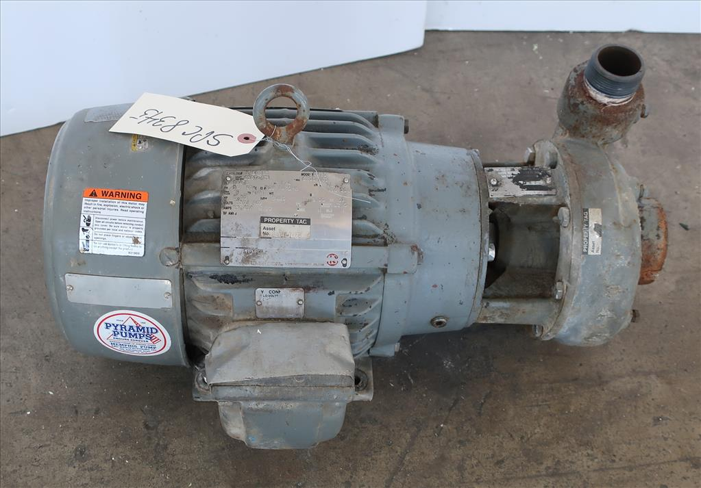 Pump MPH-150-500T-XP Memphis Pump & Mfg centrifugal pump, 5 hp, CS2