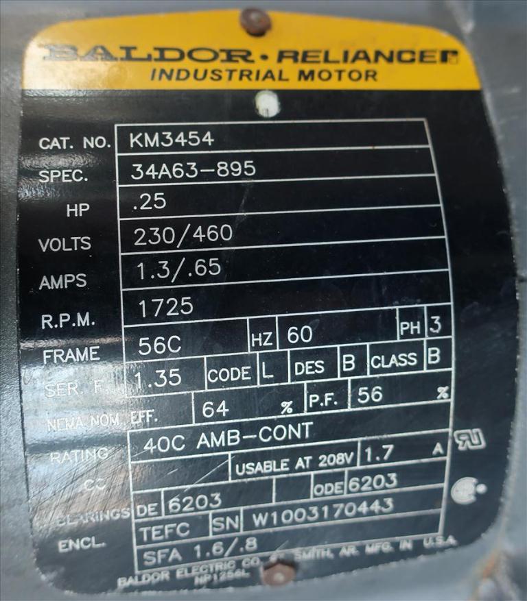 Pump Pulsatron diaphragm metering pump, poly5