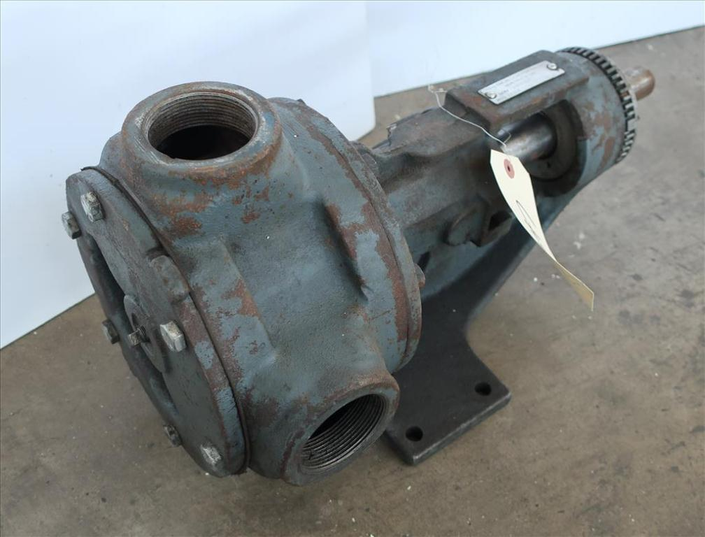 Pump 2 inlet Viking positive displacement pump model KK 124, CS1