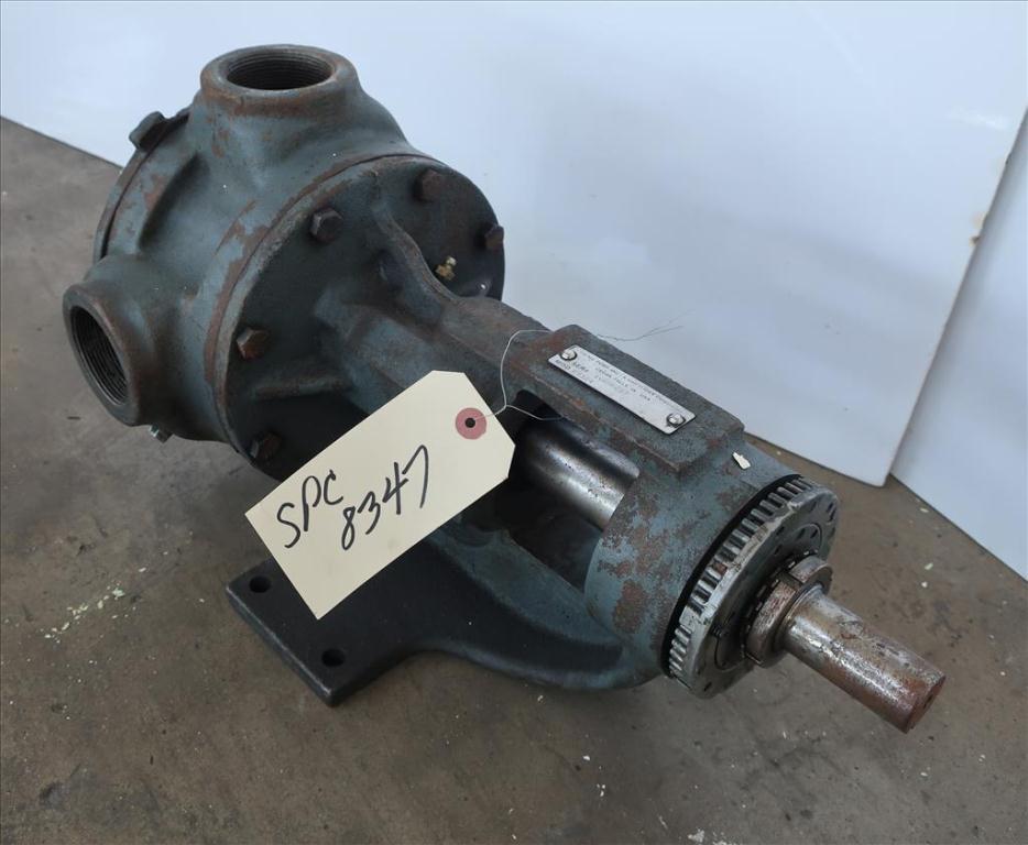Pump 2 inlet Viking positive displacement pump model KK 124, CS2