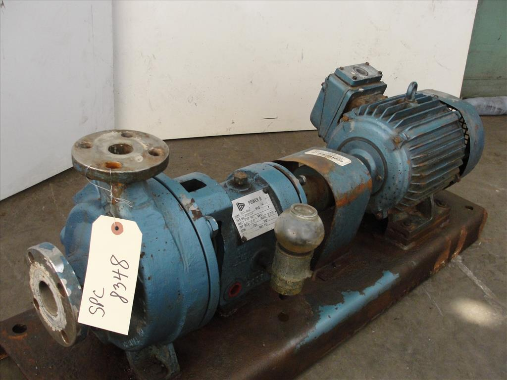 Pump 1x1.5x6 Power D centrifugal pump, 5 hp, 316 SS1
