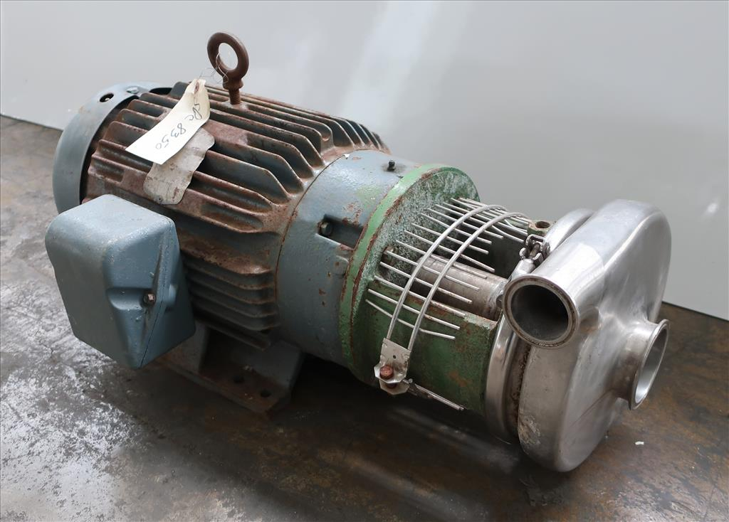 Pump 2x3x6 centrifugal pump, 20 hp, Stainless Steel Contact Parts