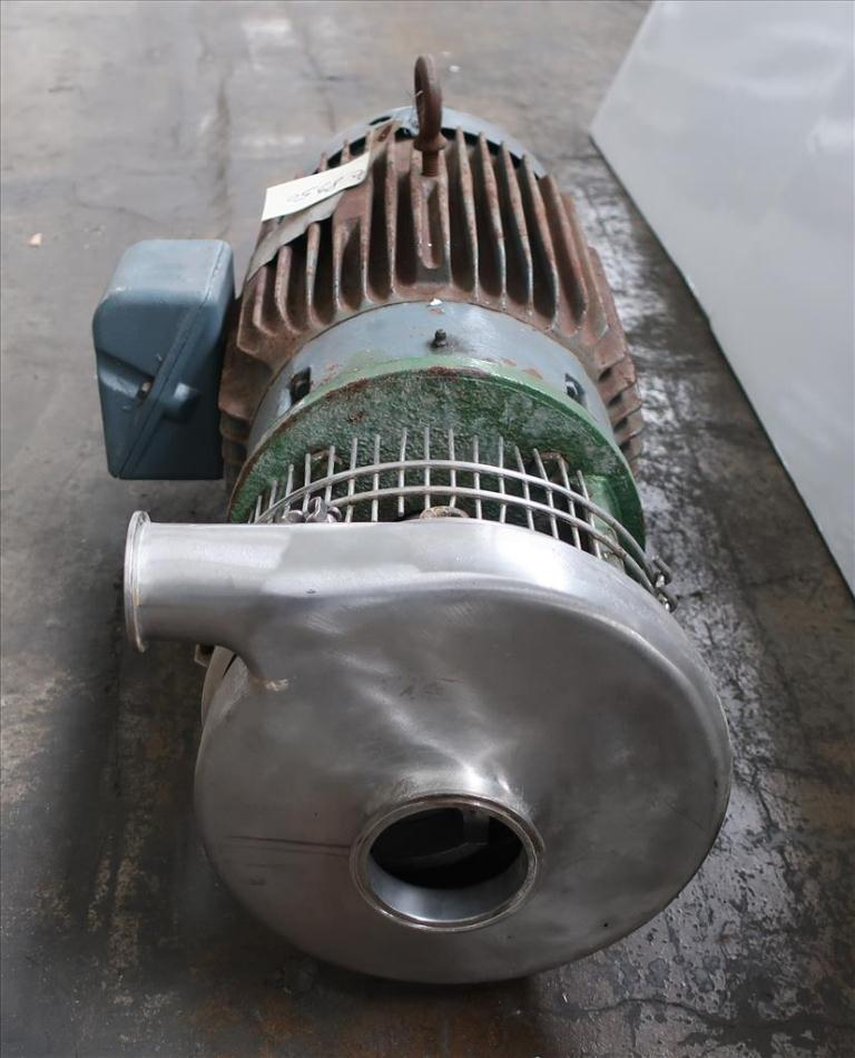 Pump 2x3x6 centrifugal pump, 20 hp, Stainless Steel Contact Parts2