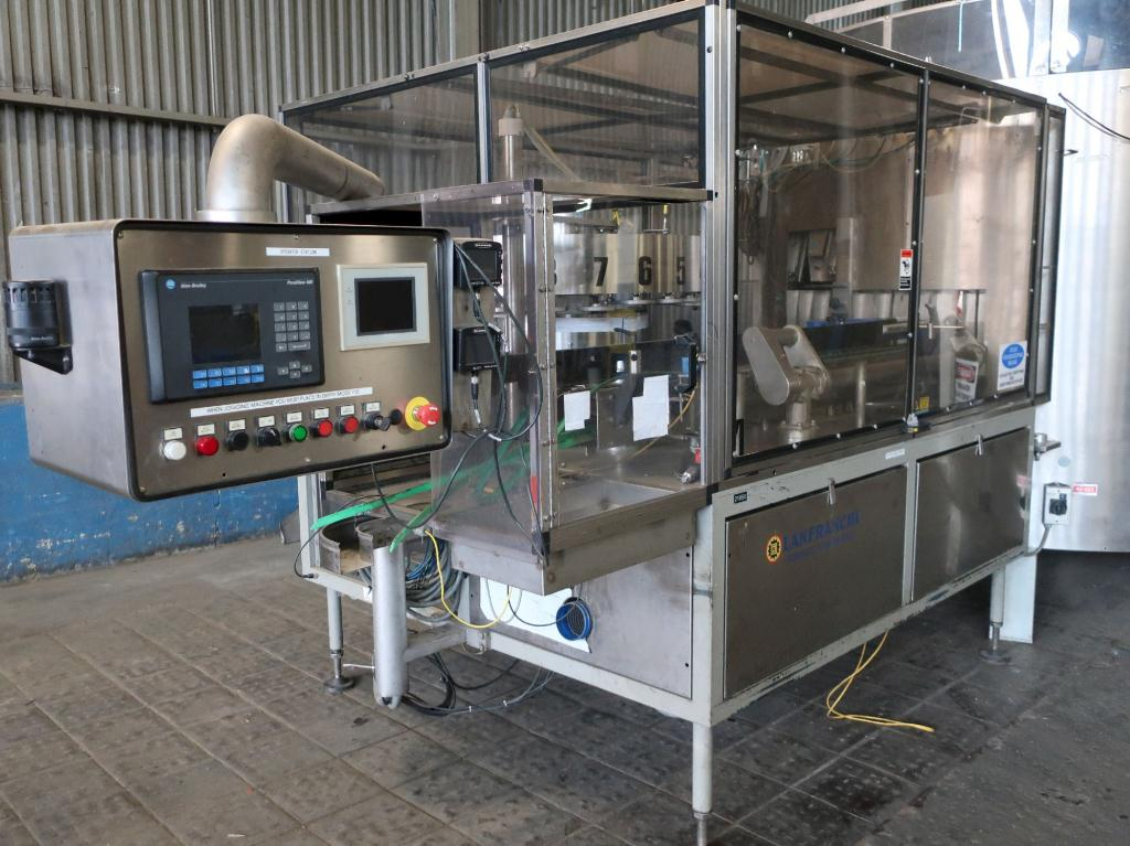 Unscrambler Lanfranchi bottle unscrambler model L3-SR18/24, Stainless Steel, up to 450 cpm7