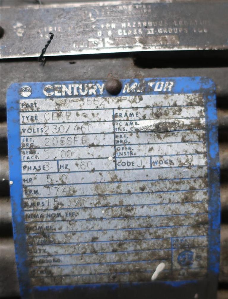 Compressor 5 hp Quincy air compressor model 325 156